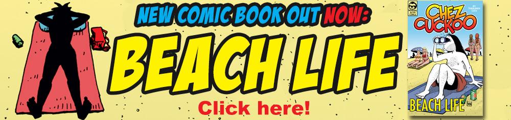 New comic book: Beach Life